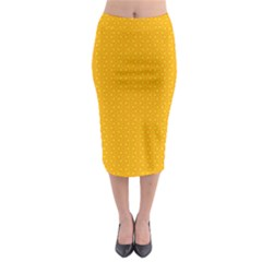 Texture Background Pattern Midi Pencil Skirt