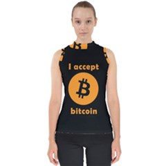 I Accept Bitcoin Shell Top by Valentinaart