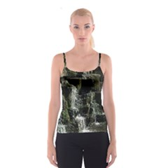 Water Waterfall Nature Splash Flow Spaghetti Strap Top
