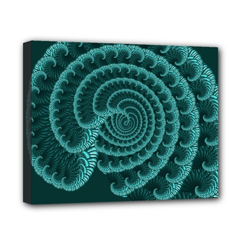 Fractals Form Pattern Abstract Canvas 10  X 8