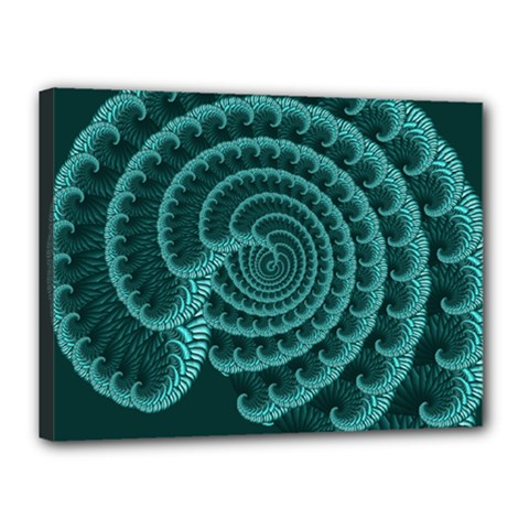 Fractals Form Pattern Abstract Canvas 16  X 12