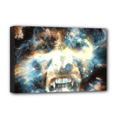 Universe Vampire Star Outer Space Deluxe Canvas 18  X 12