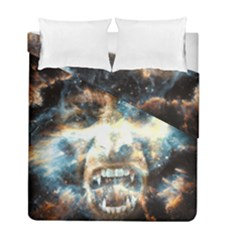 Universe Vampire Star Outer Space Duvet Cover Double Side (full/ Double Size)