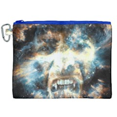 Universe Vampire Star Outer Space Canvas Cosmetic Bag (xxl) by BangZart