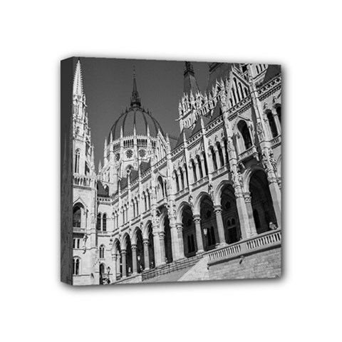 Architecture Parliament Landmark Mini Canvas 4  X 4