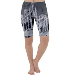Architecture Parliament Landmark Cropped Leggings
