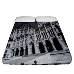 Architecture Parliament Landmark Fitted Sheet (queen Size)