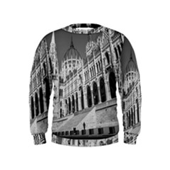 Architecture Parliament Landmark Kids  Sweatshirt