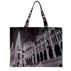 Architecture Parliament Landmark Zipper Mini Tote Bag