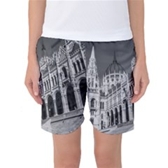 Architecture Parliament Landmark Women s Basketball Shorts
