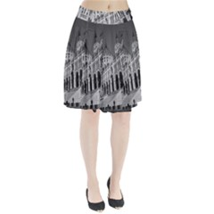 Architecture Parliament Landmark Pleated Skirt