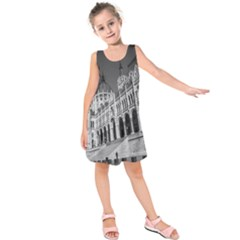 Architecture Parliament Landmark Kids  Sleeveless Dress
