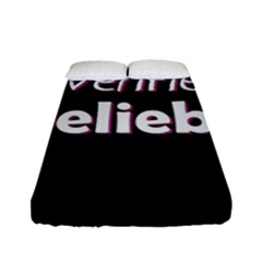 Verified Belieber Fitted Sheet (full/ Double Size) by Valentinaart