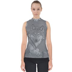 Wolf Forest Animals Shell Top