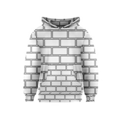 Wall Pattern Rectangle Brick Kids  Pullover Hoodie
