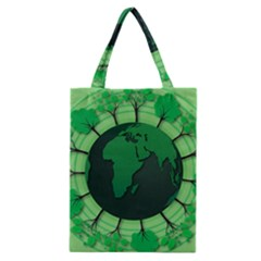 Earth Forest Forestry Lush Green Classic Tote Bag by BangZart