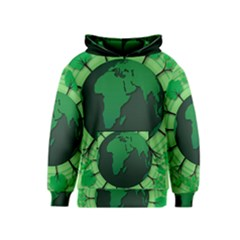 Earth Forest Forestry Lush Green Kids  Pullover Hoodie