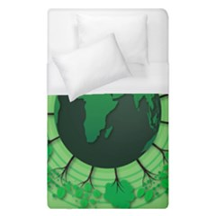 Earth Forest Forestry Lush Green Duvet Cover (single Size)