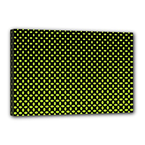Pattern Halftone Background Dot Canvas 18  X 12