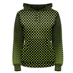 Pattern Halftone Background Dot Women s Pullover Hoodie