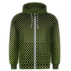Pattern Halftone Background Dot Men s Zipper Hoodie
