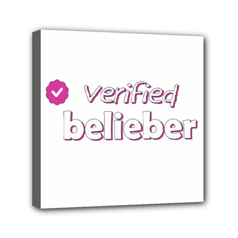 Verified Belieber Canvas Travel Bag by Valentinaart