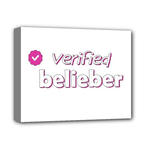 Verified Belieber Deluxe Canvas 14  X 11  by Valentinaart