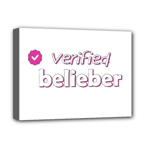 Verified Belieber Deluxe Canvas 16  X 12