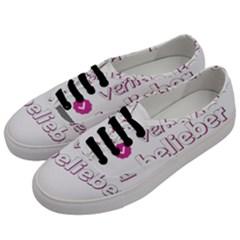 Verified Belieber Women s Classic Low Top Sneakers by Valentinaart