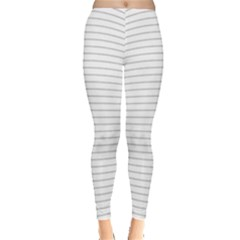 Pattern Background Monochrome Leggings