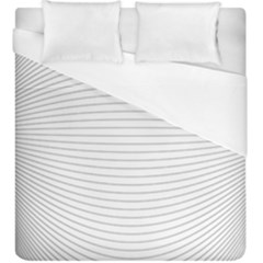 Pattern Background Monochrome Duvet Cover (king Size)