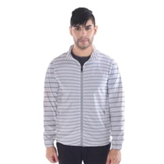 Pattern Background Monochrome Wind Breaker (men)