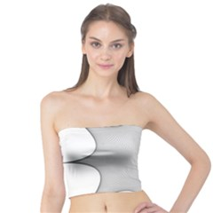 Star Grid Curved Curved Star Woven Tube Top