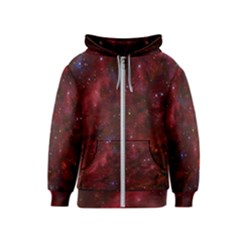 Abstract Fantasy Color Colorful Kids  Zipper Hoodie
