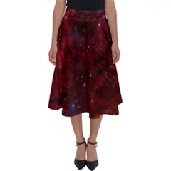 Abstract Fantasy Color Colorful Perfect Length Midi Skirt