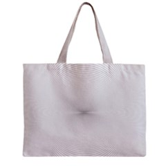Background Line Motion Curve Zipper Mini Tote Bag