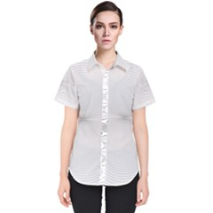 Background Line Motion Curve Women s Short Sleeve Shirt