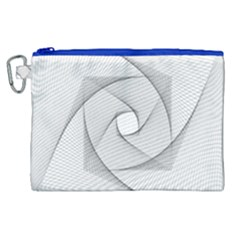 Rotation Rotated Spiral Swirl Canvas Cosmetic Bag (xl) by BangZart