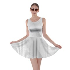 Background Pattern Stripe Skater Dress