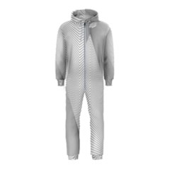 Background Pattern Stripe Hooded Jumpsuit (kids)