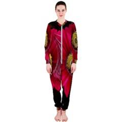 Fantasy Flower Fractal Blossom Onepiece Jumpsuit (ladies)