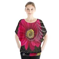 Fantasy Flower Fractal Blossom Blouse