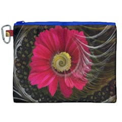 Fantasy Flower Fractal Blossom Canvas Cosmetic Bag (xxl) by BangZart