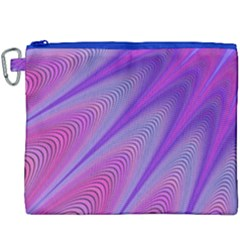 Purple Star Sun Sunshine Fractal Canvas Cosmetic Bag (xxxl) by BangZart