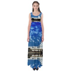 India Punjab Amritsar Sikh Empire Waist Maxi Dress