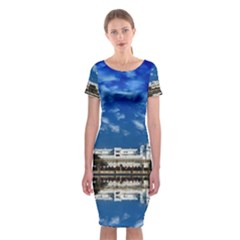 India Punjab Amritsar Sikh Classic Short Sleeve Midi Dress
