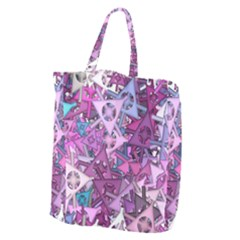 Fun,fantasy And Joy 7 Giant Grocery Zipper Tote