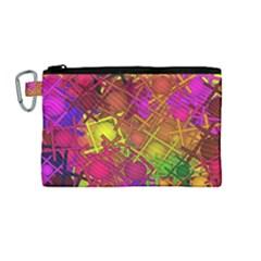 Fun,fantasy And Joy 5 Canvas Cosmetic Bag (medium) by MoreColorsinLife