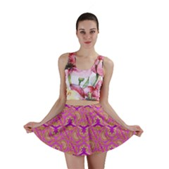 Universe 1 Pattern Mini Skirt