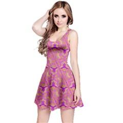 Universe 1 Pattern Reversible Sleeveless Dress